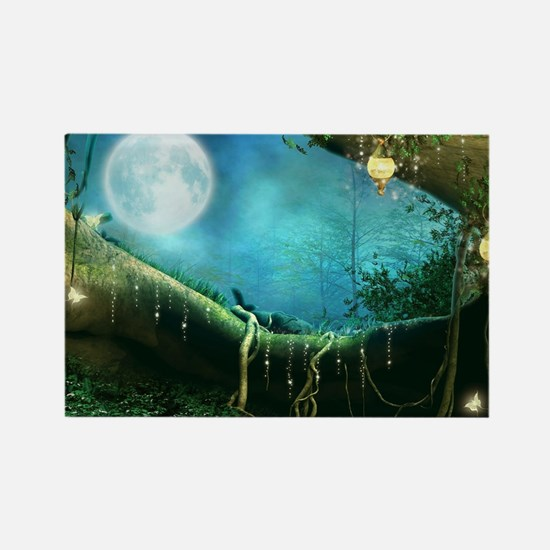Enchanted Forest Rectangle Magnet
