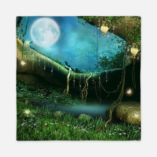 Enchanted Forest Queen Duvet
