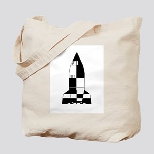 V2 German World War 2 Rocket Cartoon Tote Bag