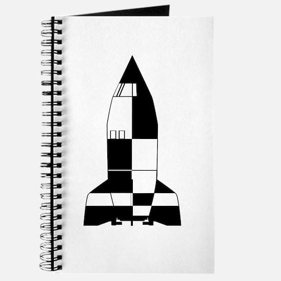 V2 German World War 2 Rocket Cartoon Journal