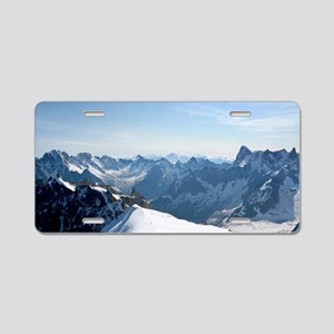 MOUNTAINS-Pro PHOTO Aluminum License Plate