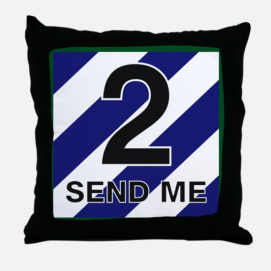 3id - 2nd Brigade Throw Pillow