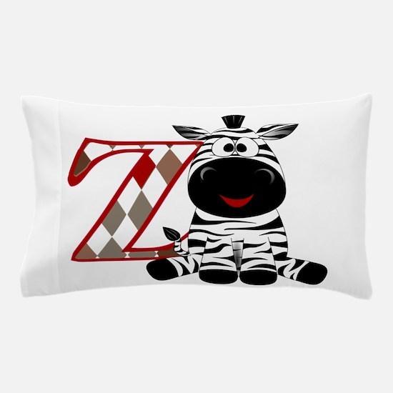 Z is for Zebra Pillow Case