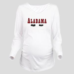 Alabama Crimson Tide Long Sleeve Maternity T-Shirt