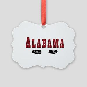 Alabama Crimson Tide Picture Ornament