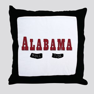 Alabama Crimson Tide Throw Pillow