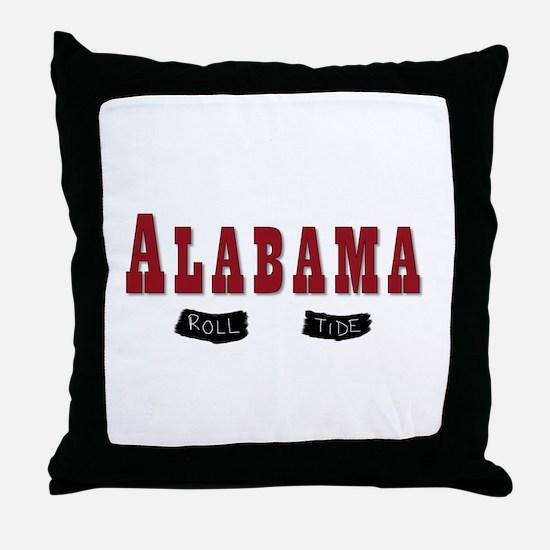 Alabama Crimson Tide Throw Pillow