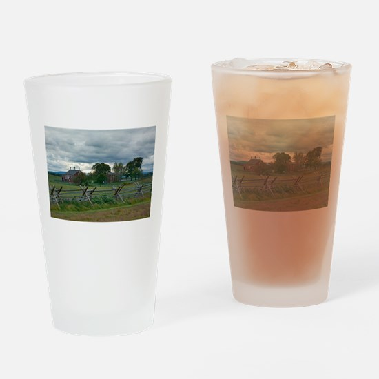 Gettysburg National Park - Codori F Drinking Glass