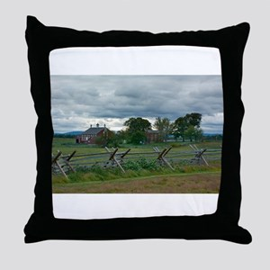 Gettysburg National Park - Codori Far Throw Pillow