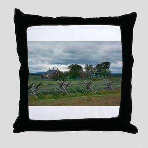 Gettysburg National Park - Codori Far Throw Pillow
