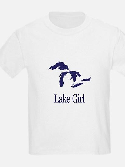 Cute Michigan girl T-Shirt