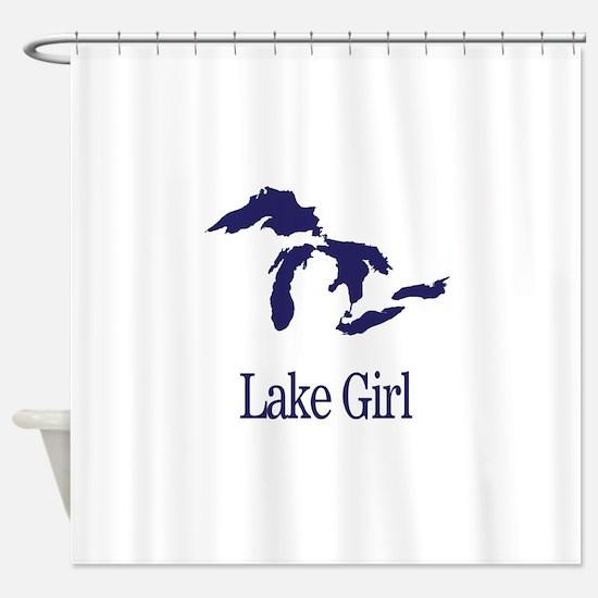 Cute Lakes Shower Curtain