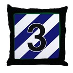 3id - 3rd Brigade Throw Pillow