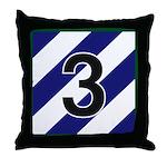 3id - 3rd Brigade Throw Pillow