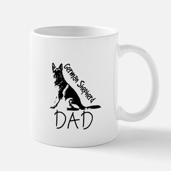 German Shepherd Dad Mugs