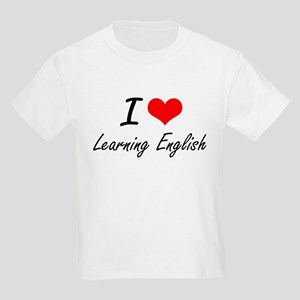 I love Learning English T-Shirt