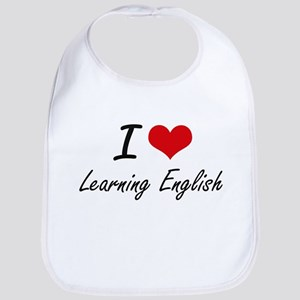 I love Learning English Bib