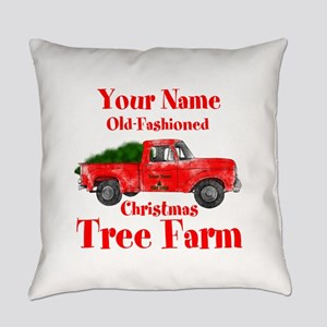Custom Tree Farm Everyday Pillow