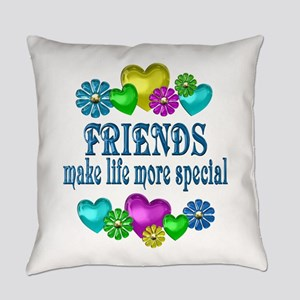 Friends More Special Everyday Pillow