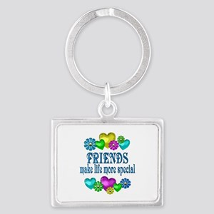 Friends More Special Landscape Keychain