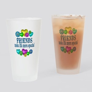 Friends More Special Drinking Glass