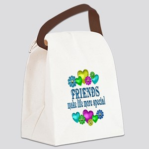 Friends More Special Canvas Lunch Bag
