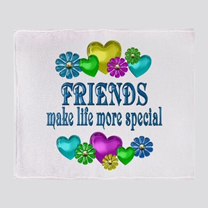Friends More Special Throw Blanket