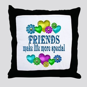 Friends More Special Throw Pillow