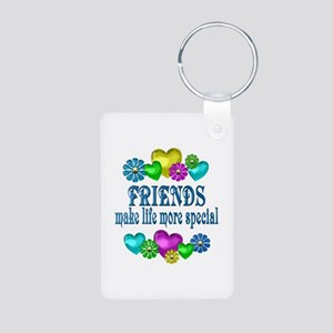 Friends More Special Aluminum Photo Keychain