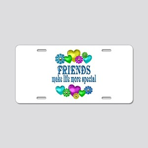 Friends More Special Aluminum License Plate