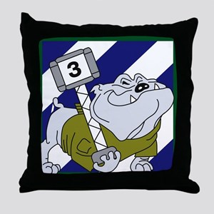 3rd Brigade Sledge Hammer Throw Pillow
