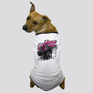 Oilfield Wife Oil Mix Dog T-Shirt