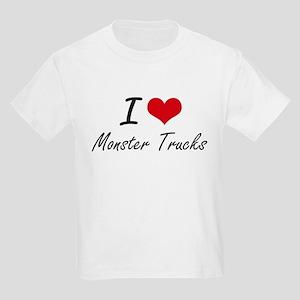 I love Monster Trucks T-Shirt