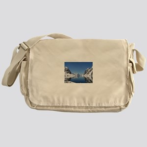 Antarctica By Sea Messenger Bag