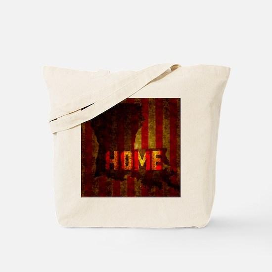 LOUISIANA HOME vintage one Tote Bag