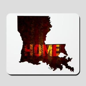 LOUISIANA HOME vintage two Mousepad