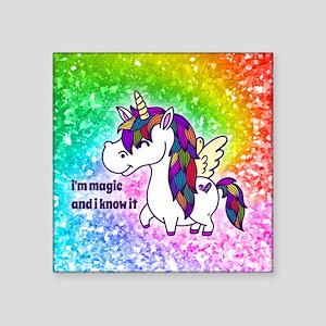 I'm magic and I know it Sticker