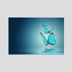Magic Butterflies Rectangle Magnet