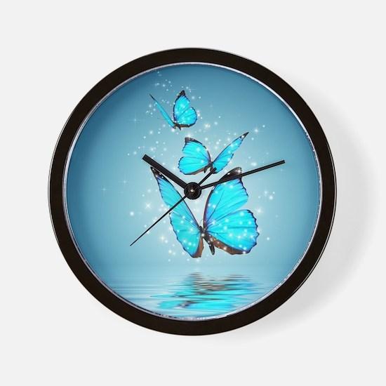 Magic Butterflies Wall Clock