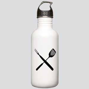 bbq cross Stainless Water Bottle 1.0L