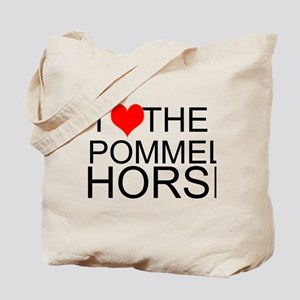 I Love The Pommel Horse Tote Bag