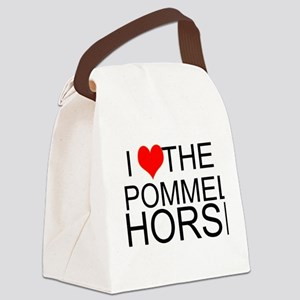 I Love The Pommel Horse Canvas Lunch Bag