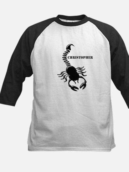 Personalized Black Scorpion Baseball Jersey