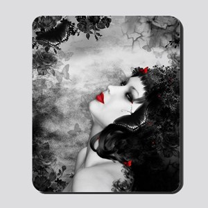 Black Rose Fantasy Mousepad
