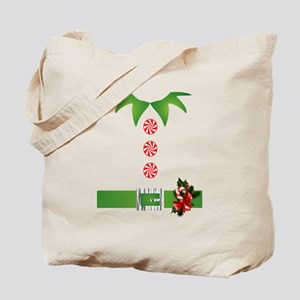 funny christmas elf  Tote Bag