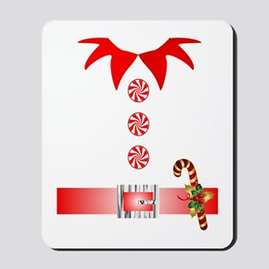 funny christmas elf  Mousepad