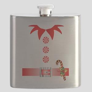 funny christmas elf  Flask