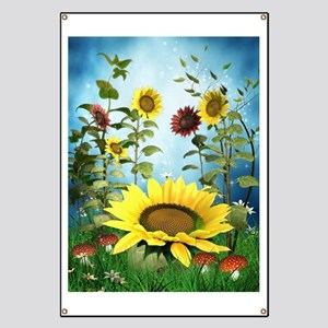 Sunflowers Banner