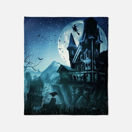 Haunted Mansion Throw Blanket