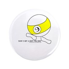 Funny 9 Ball Spot Button